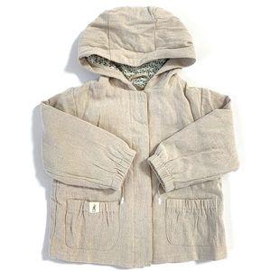 Zara Toddler Girl Hooded Jacket